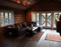 Timber house interior opportunities