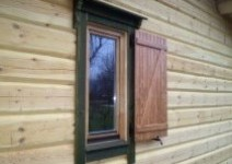 We manufacture wooden windows of various forms